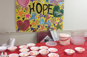 HoPE Thrived When Fruit and Homemade Ice Cream Were Delivered to The Jesus Center in Chico, CA
