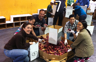 Tripura Foundation Volunteers Delivered Food To The San Francisco Food Bank